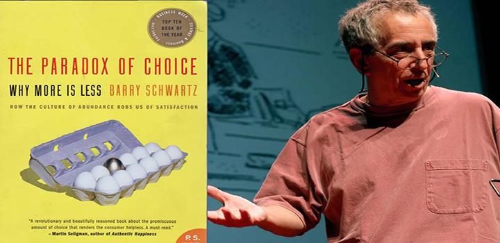 بری شوارتز و داستان پارادوکس انتخاب